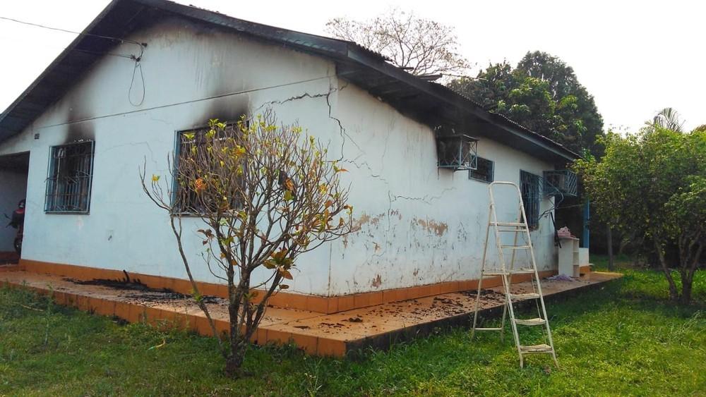 Homem morre carbonizado em Foz do Iguaçu