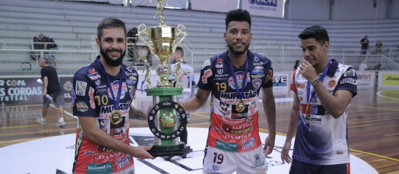 Cascavel Futsal é campeão da Copa Três Coroas