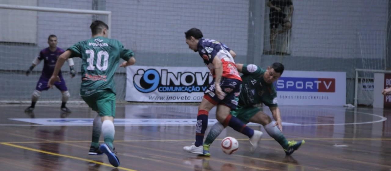 Cascavel Futsal estreia com vitória na Copa Três Coroas
