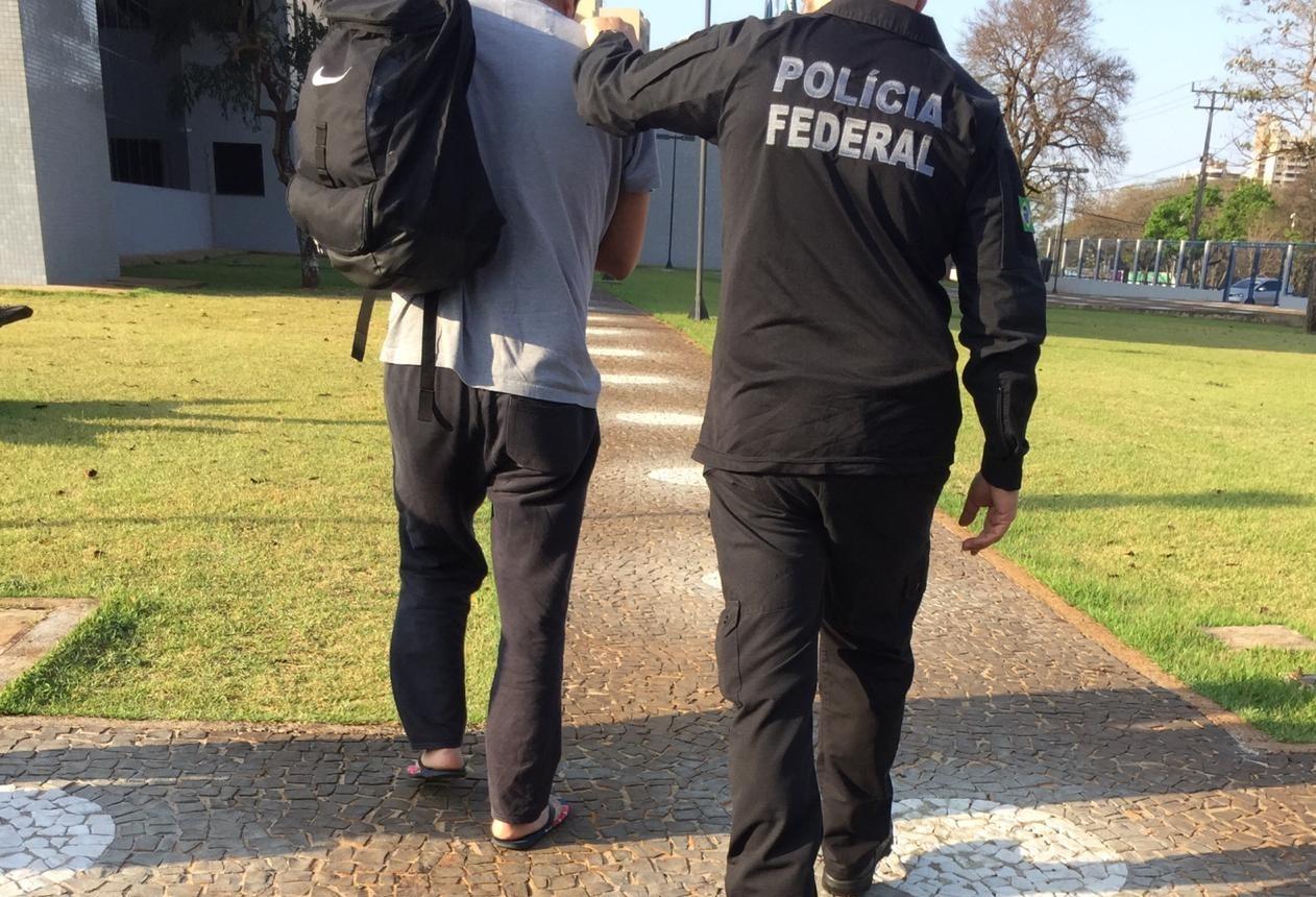 Polícia Federal  captura foragido em operação na fronteira Sudoeste
