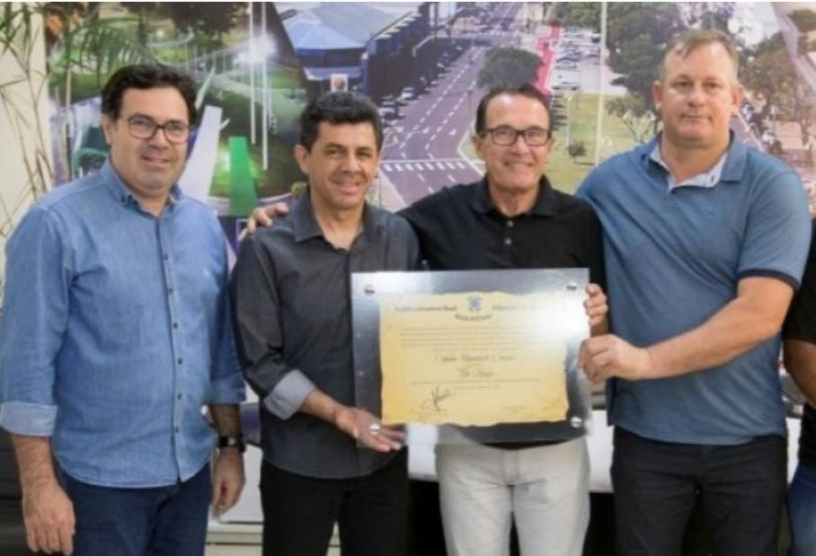 Eloi Kruger recebe  título de Cidadão Honorário de Cascavel