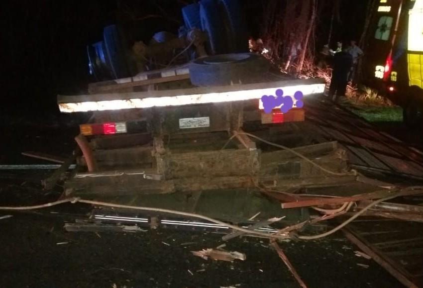 Acidente com morte em Laranjeiras do Sul