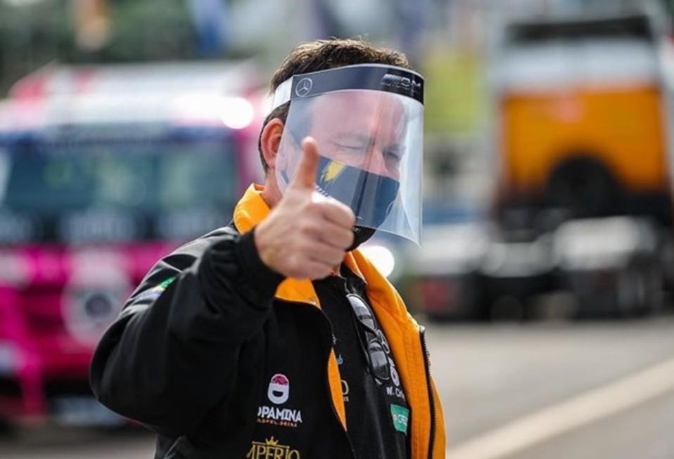 Paranaense Wellington Cirino vence primeira prova sem público da história da Truck