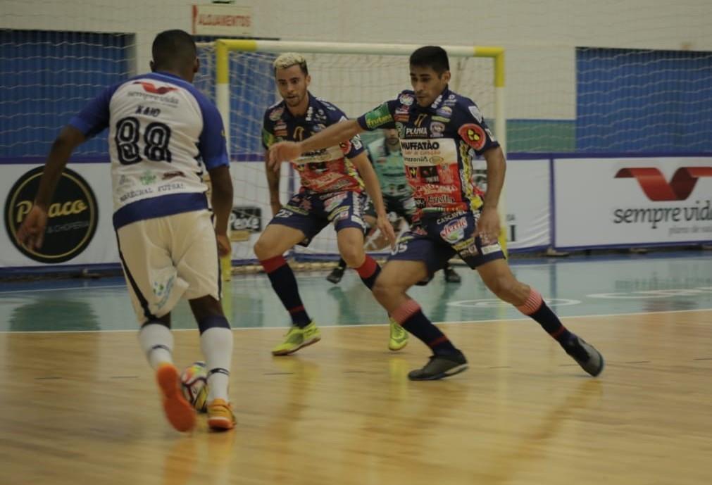 Cascavel Futsal goleia Marechal por 5x1