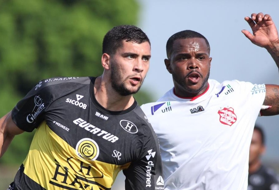 FC Cascavel perde por 2x0 para o Bangu no Moça Bonita