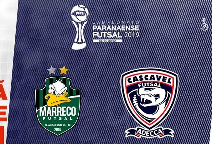 Cascavel enfrenta Marreco pelo Campeonato Paranaense