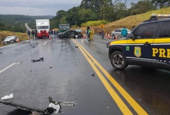 Grave acidente na BR 277 mata superintendente de Governança da Casa Civil do Paraná