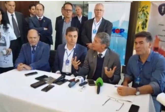 Diretor-geral  da Itaipu firma parceria com municípios do Oeste