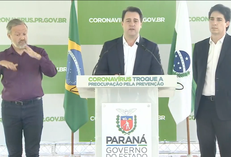 Governo do Paraná anuncia  novo pacote de medidas econômicas para famílias e empresas.