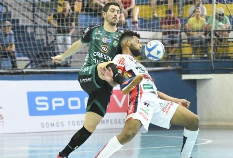 Cascavel Futsal enfrenta o Marreco nesta segunda-feira em Beltrão