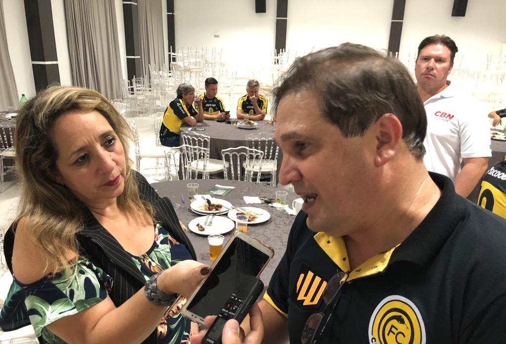 FC Cascavel estreia domingo contra o Coritiba