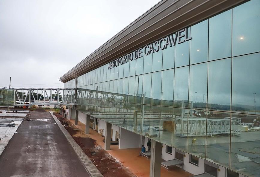 Modernização do aeroporto de Cascavel é estratégica para o Oeste