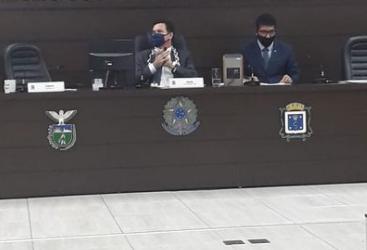 Presidente da Câmara de  Vereadores faz protesto contra pedágios
