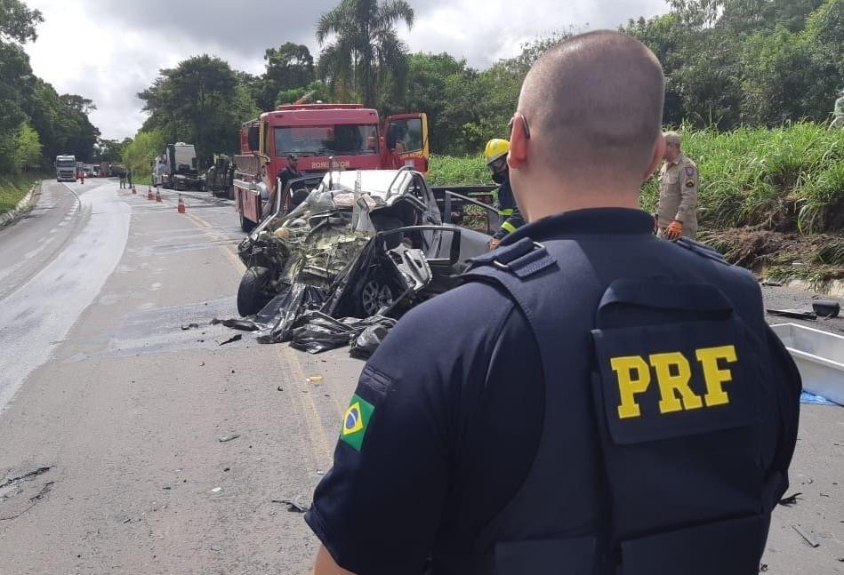 PRF divulga balanço de acidentes do feriado de Carnaval