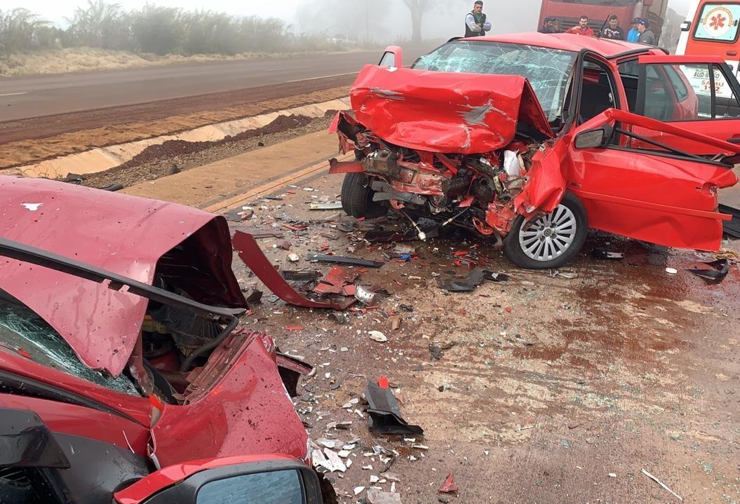 Grave acidente em Santa Maria