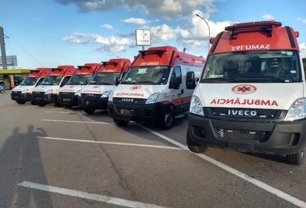 Consamu recebe oito novas viaturas do Ministério da Saúde