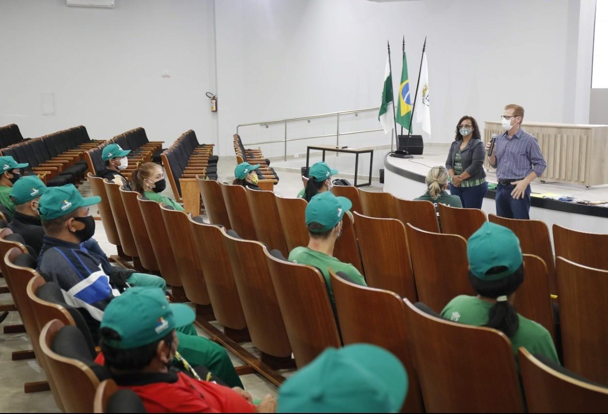 Secretaria de Meio Ambiente  realiza  a última etapa do processo de treinamento dos cooperados dos Ecopontos