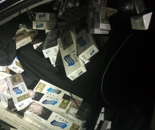 Polícia faz diversas apreensões de cigarros na região