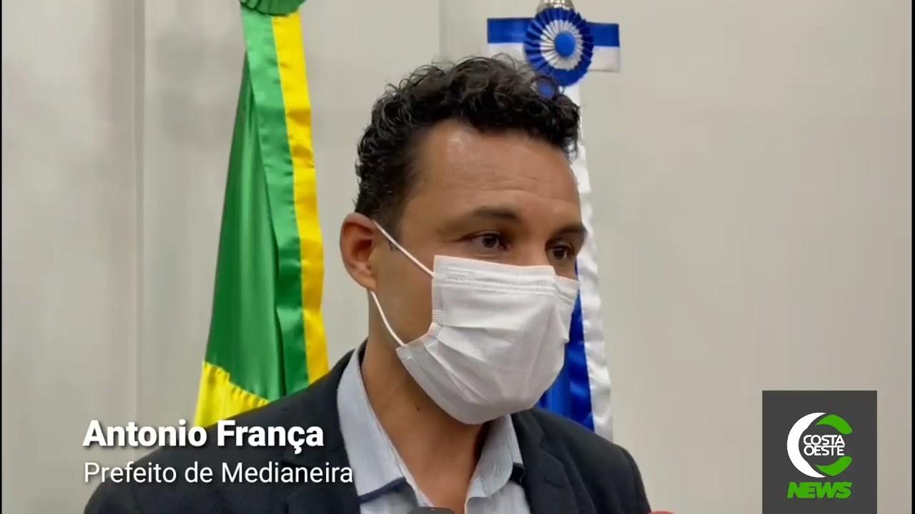 """""""As obras da escola técnica serão retomadas e a capacidade de atendimento será para 1.200 alunos"""", diz França"""