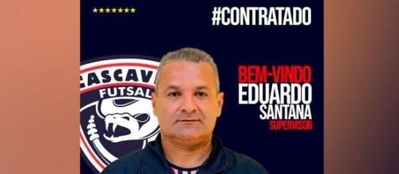 Eduardo Santana é o novo supervisor do Cascavel Futsal