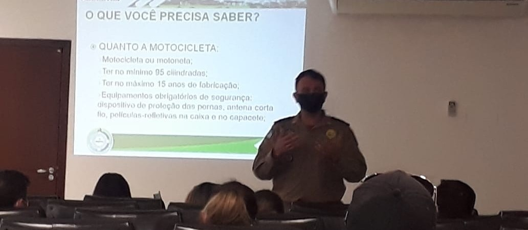 Reunião debate a segurança do motofrete