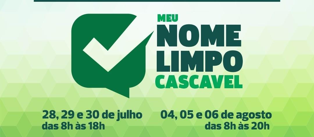 Meu nome Limpo: Município e entidades se unem em campanha para fortalecer o crédito