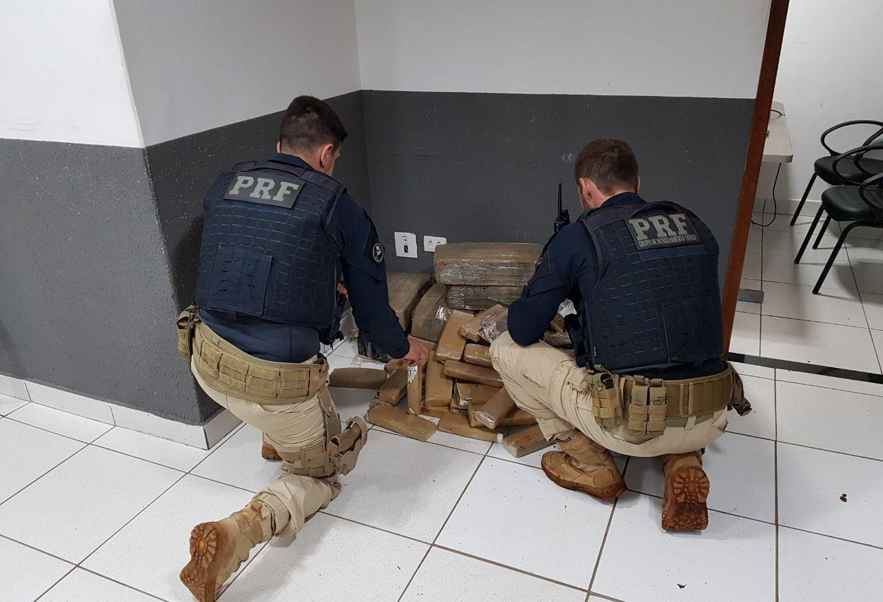 PRF apreende três vezes mais drogas durante o 1º trimestre no Paraná