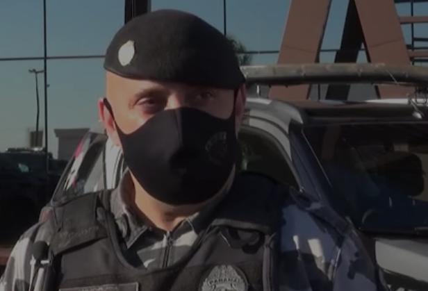 Policiais fazem treinamento para Operação Pronta Resposta