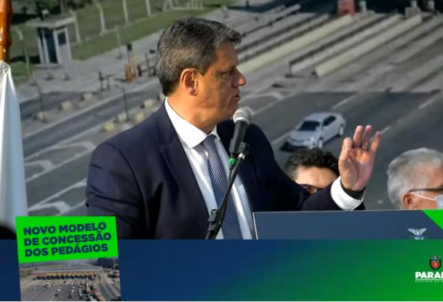 Governador e ministro da Infraestrutura apresentam novo pedágio