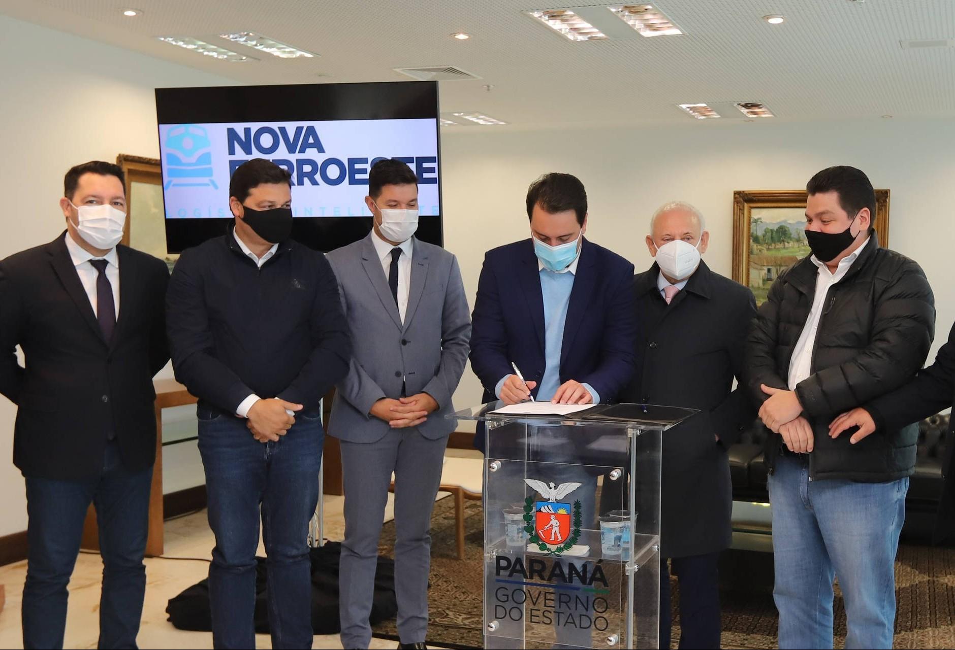 Promulgada PEC que institui modelo de autorização no modal ferroviário no Paraná