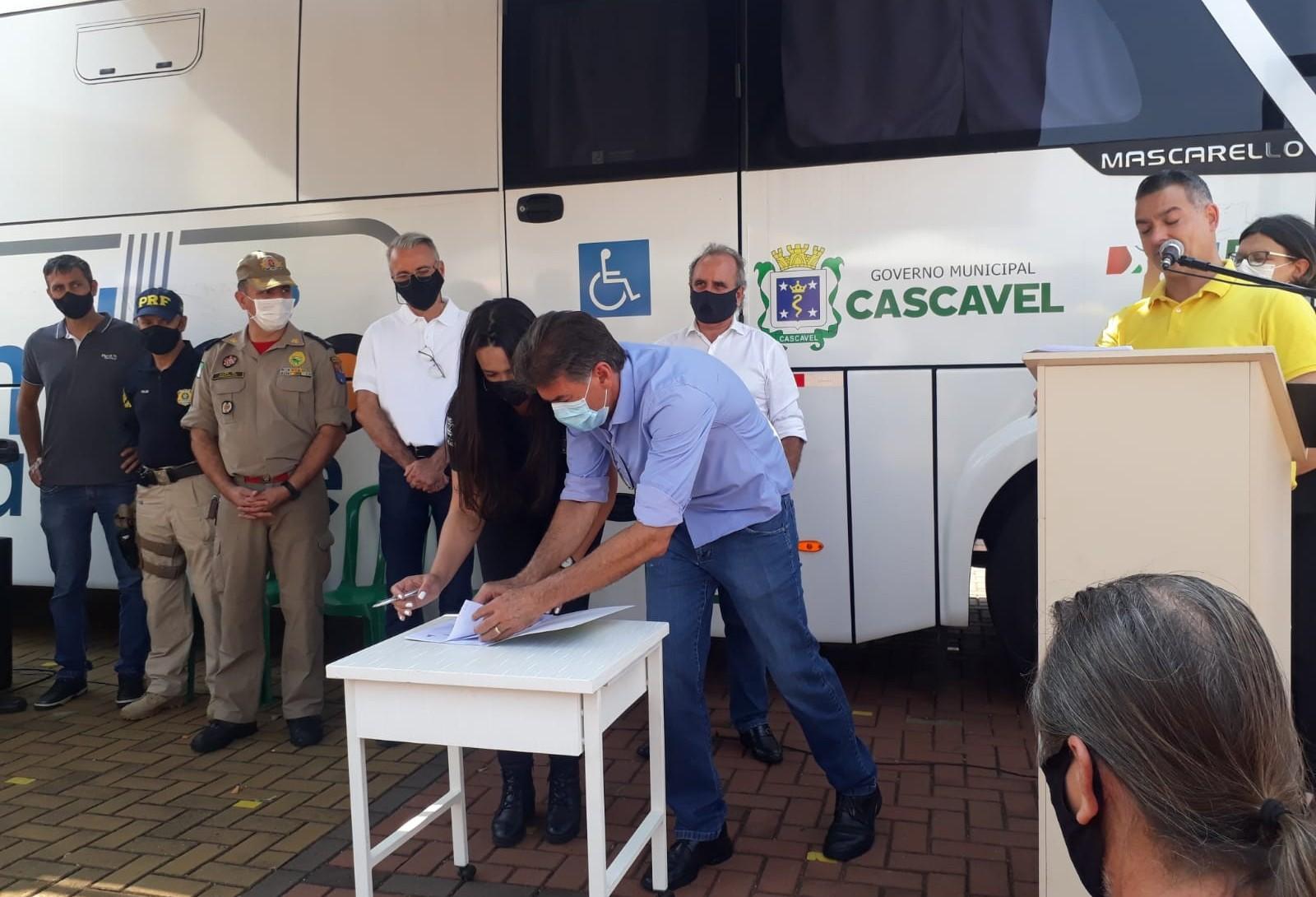 Semana Nacional de Trânsito é lançada em Cascavel