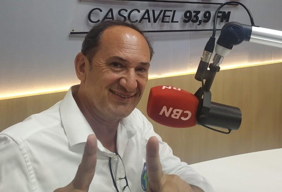 """Candidato Lúcio de Marchi diz  que """"Toledo precisa continuar avançando, não é hora de mudança"""""""