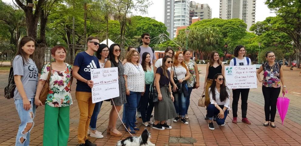 Jovens se mobilizam em prol as questões ambientais